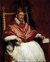Портрет Иннокентия. 1650