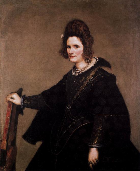 """1633 Веласкес Диего """"Портрет дамы."""""""