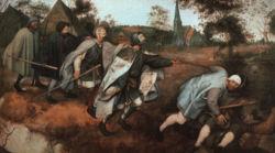 Питер Брейгель Старший, Слепые, 1568, Национальные музей и галерея Каподимонте