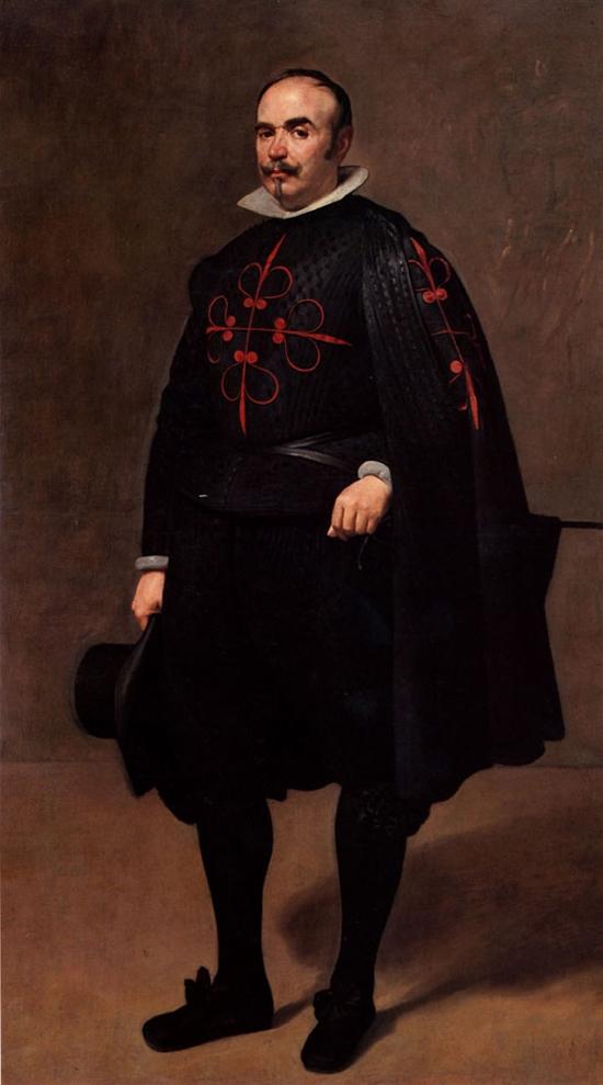"""1643 Веласкес Диего """"Портрет маркиза."""""""
