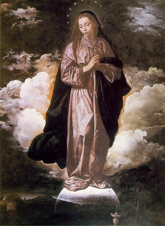 """1618 Веласкес Диего """"Зачатие."""""""