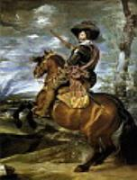 Граф-герцог Оливарес на коне. 1634
