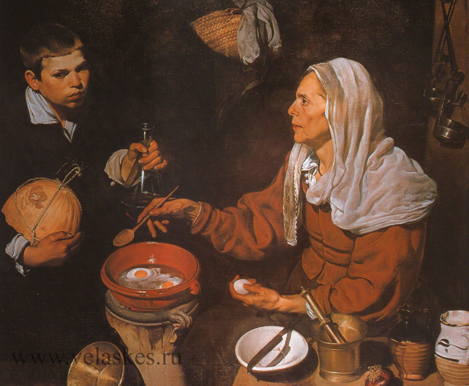 Старая кухарка