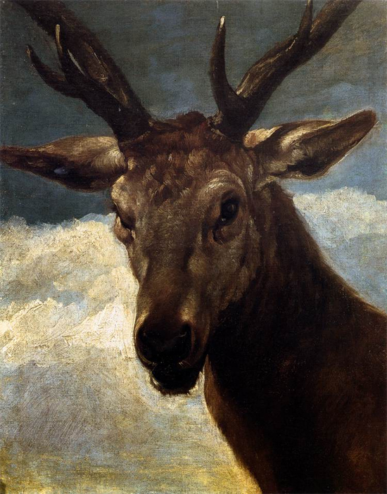 """1626 Веласкес Диего """"Голова оленя."""""""